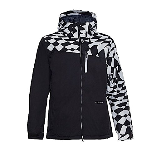 Volcom Men's Shadow Insulated Jacket, White, Small