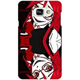 AMAN Suicide 3D Back Cover For Samsung Galaxy A7 2016