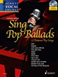 Sing Pop Ballads: 12 Famous Pop Songs...