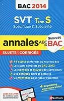 ANNALES BAC 2014 SVT TS SPE +