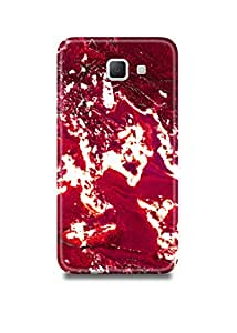 Red & White Marble Samsung A5(2016) Case