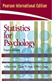 Statistics for Psychology (0132018101) by Elliot J Coups
