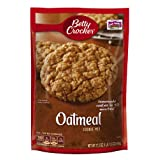 Betty Crocker Cookie Mix, Oatmeal, 17.5-Ounce Pouches (Pack of 12) ~ Betty Crocker Baking
