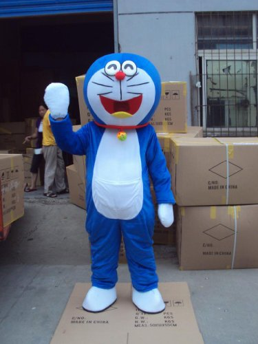 Cute Doraemon Cat Cosplay Mascot Costume Cartoon Character