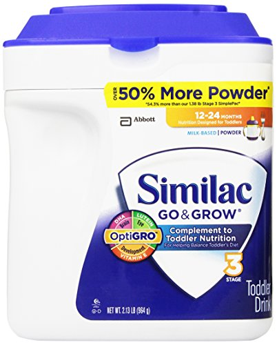 Similac - Go & Grow Infant Formula, 34 oz. (2.13 lb) - 1 pk. - 1