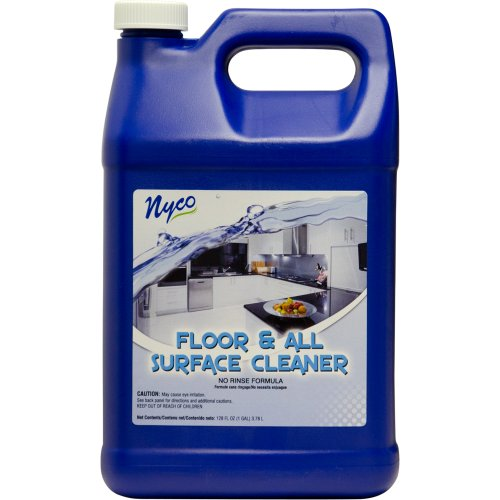 Nyco Products Nl90476 Floor And All Surface Cleaner, Citrus Lemon Lime Scent, 6.25 - 8.25 Ph, 1 Gallon Bottle (Case Of 4) front-408147