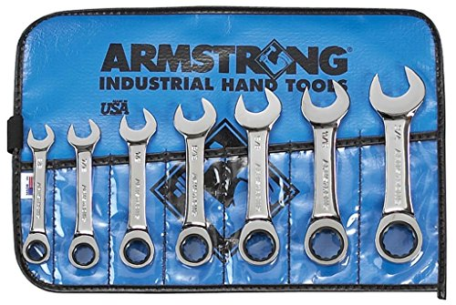 """ARMSTRONG Reversible Ratcheting Combination Wrench 5//8/"""""""