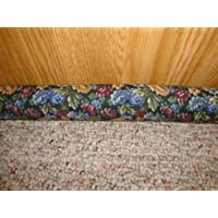 Door Draft Stopper Filled with Fragrant Balsam - Multi-floral