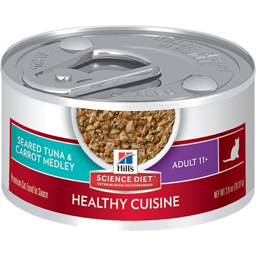 Hill's Science Diet Adult Healthy Cuisine Seared Tuna & Carrot Medley