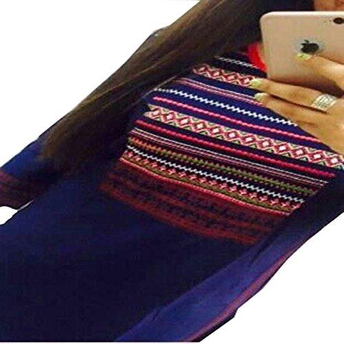 Kesu-Fahion-Woman-Embroidered-semi-stitched-Selfie-Kurti-In-Georgette-Fabric-KUKRT1019Free-SizeBlue