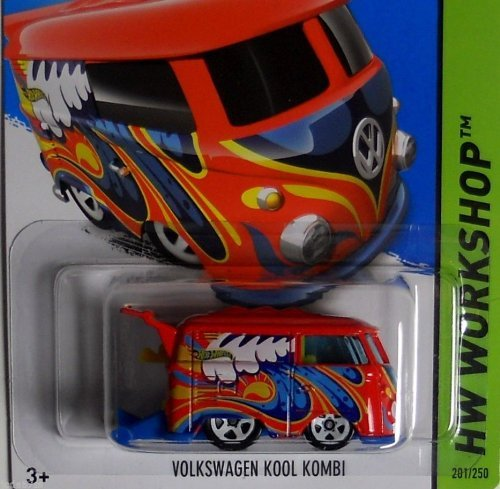 2014 Hot Wheels Hw Workshop 201/250 - Volkswagen Kool Kombi - 1