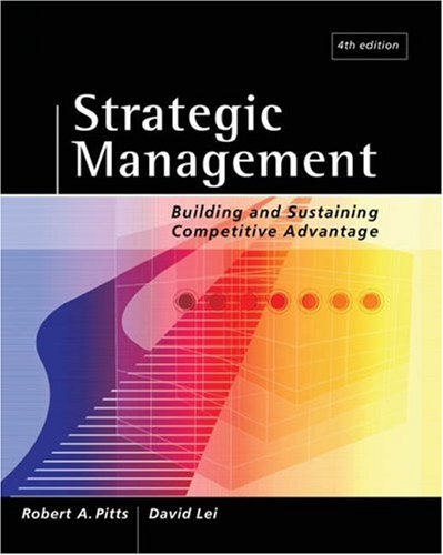 Strategic Management: Building and Sustaining Competitive...