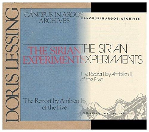 the-sirian-experiments