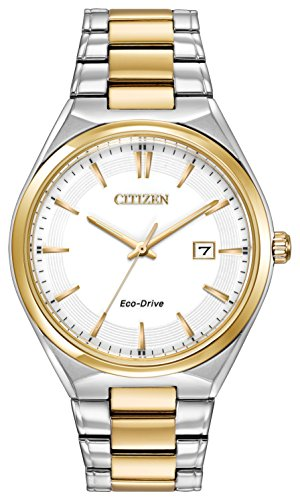Citizen Watch Men's Quartz Watch with Black Dial Analogue Display and Black Stainless Steel Bracelet BM7314-55A