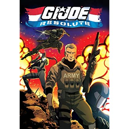 G.I. JOE: Resolute DVD cover, via Amazon.com
