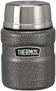 thermos king thermosbeh lter f r lebensmittel edelstahl hammerschlagoptik 0 47 l. Black Bedroom Furniture Sets. Home Design Ideas