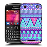 Head Case Sugar-coated Aztec Candy Tribal Back Case For Blackberry Curve 9360