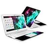 MightySkins Protective Vinyl Skin Decal Cover For HP Chromebook 14 Cover Sticker Skins Glow Stars