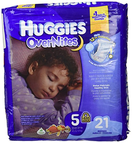Huggies Overnites Diapers - Size 5 - 21 ct - 1