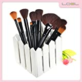 Loel Professional Portable 32 Pcs Make Up Brush Cosmetic Set Premium Synthetic Hair With Case