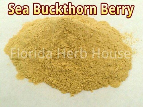 Sea Buckthorn Berry Juice Powder - Pure & Unrefined (8 oz (1/2 lb)) (Florida Juice compare prices)