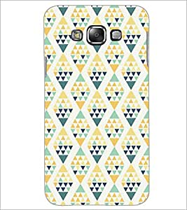 PrintDhaba Pattern D-5219 Back Case Cover for SAMSUNG GALAXY A7 (Multi-Coloured)