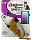Ethical A-Door-Able Bouncing Mouse Cat Toy , Assorted Colors