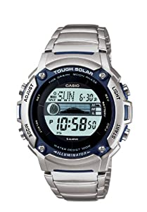 Casio Men WS210HD-1AVCF Tough Solar Powered Tide and Moon Stainless ...