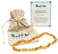Baltic Amber Teething Necklace For Ba…