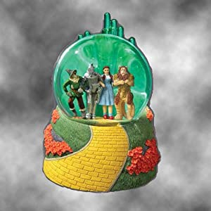 San Francisco Music Box The Wizard of Oz Emerald City Lighted Water Globe at Sears.com