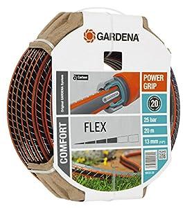 gardena comfort flex schlauch 9 x 9 13 mm 1 2 zoll 20 m ohne systemteile 18033 20. Black Bedroom Furniture Sets. Home Design Ideas