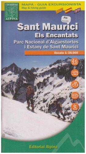 Sant Maurici, Els Encantats Map and Hiking Guide