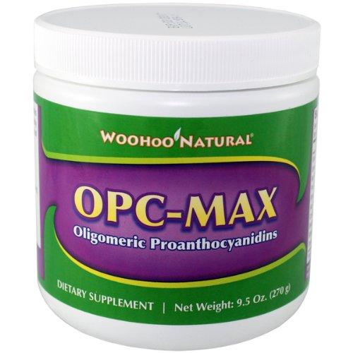 Woohoo Natural Opc-Max Oligomeric Proanthocyanidins 9.5Oz 270G