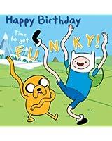 Adventure Time General Birthday Card