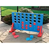 EXPRESS TRADING � GIANT EVA 4 IN A ROW GARDEN OUTDOOR GAME - IDEAL FOR FAMILY AND NURSERY / SCHOOL ACTIVITIES