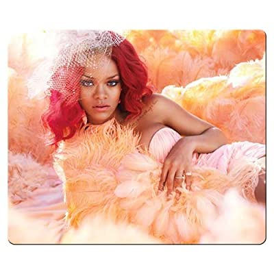 26x21cm 10x8inch Mousepads accurate cloth Environmental rubber waterproof fabric surface Rihanna
