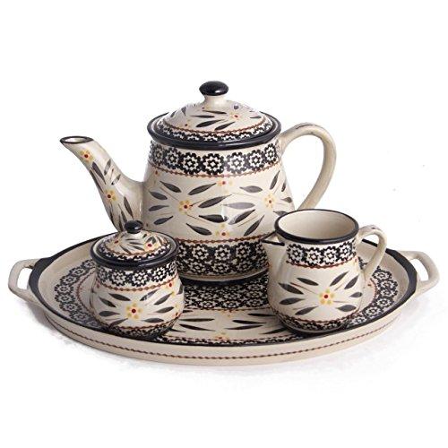 Temp-tations Old World 4-pc. Tea Set, Black Reviews