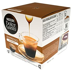 "Get Nescafe Dolce Gusto ""Espresso Caramel"" x 1 pack (16 pods) from Nestlé"