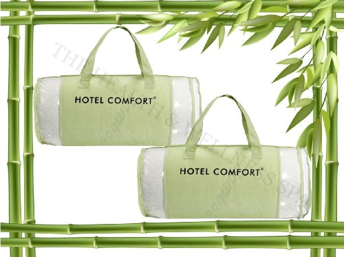 Hotel Comfort Bamboo Covered Memory Foam Pillow- King - Set Of 2 front-642242