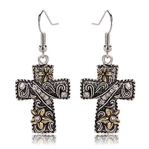 christmas-elakaka-womens-complex-carving-craft-flower-pattern-cross-earrings