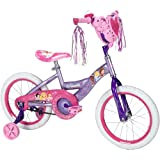 16 Huffy Disney Princess Girls' Bike with Heart Basket