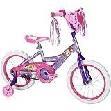 16 Huffy Disney Princess Girls' Bike with Heart Basket
