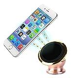 マグネット式ホルダー エアコン 吹き出し口 スマホホルダー 車載スマートフォンホルダー マグネットスタンド スマホ車載ホルダー 簡単 取り付け 360度 角度 調節可能 iPhone 6S/6S Plus/6/6 Plus/5SE/5S/5 Samsung S7/S6/S5/S4/S3など対応 高品質 K&F Concept®