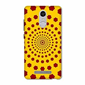 OVERSHADOW DESIGNER PRINTED BACK CASE COVER FOR XIAOMI REDMI NOTE 3