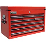 Homak   RD02092601 27-Inch Professional 9 Drawer Top Chest, Red