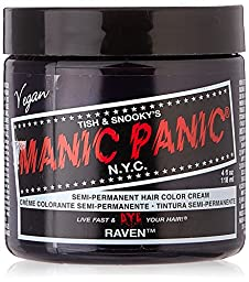 Manic Panic - Raven Cream Hair Color 4 fl. oz
