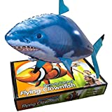 Air Swimmers Rc Flying Remote Control Inflatable Fish Shark Blimp Balloon Toy Sr