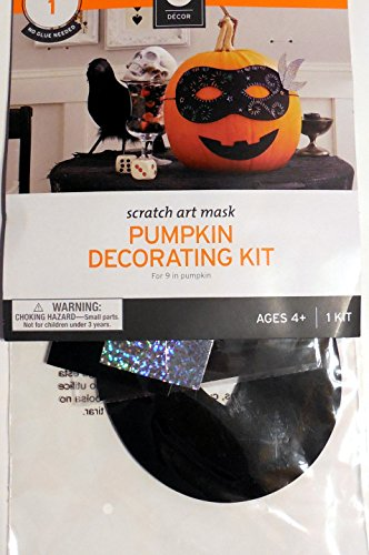 Halloween Pumpkin Decorating Kit Mexican Art Mask