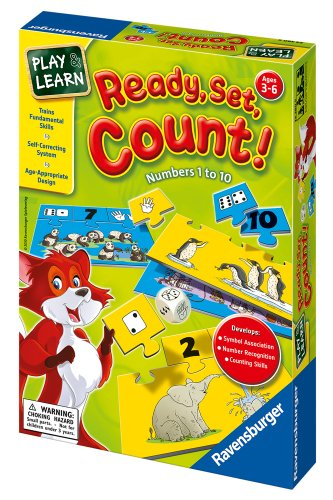Ravensburger Ready, Set, Count! - Numbers 1 to 10 - 1
