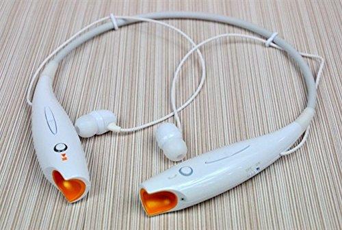 Lentenda Hv-800 V4.0 Bluetooth Csr 4.0 Wireless Stereo Music Headset+Edr Universal Neckband Headphones Sport Stereo Headphone For Iphone 5S/4S Samsung S4/S3 Lg Ipad Cellphones (White)